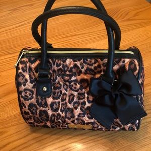 Betsey Johnson Leopard Print Bag